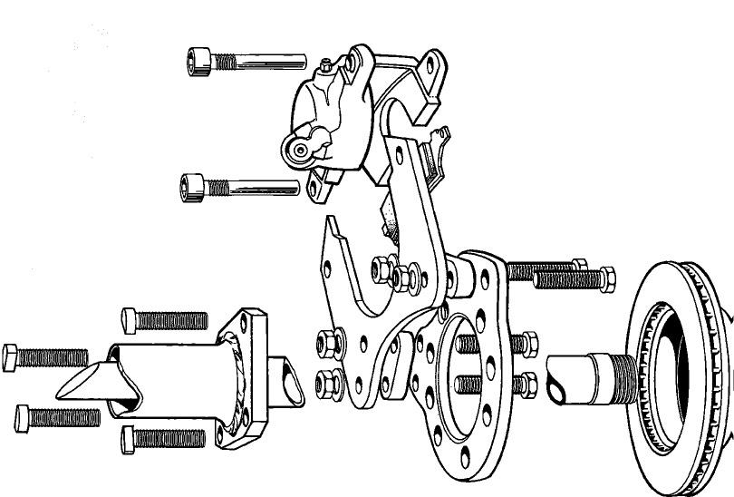 80-96 10.25 Ford Rear Disc Brake Conversion