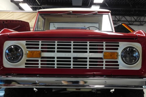 small resolution of 1966 1978 ford bronco and f series truck black led headlights