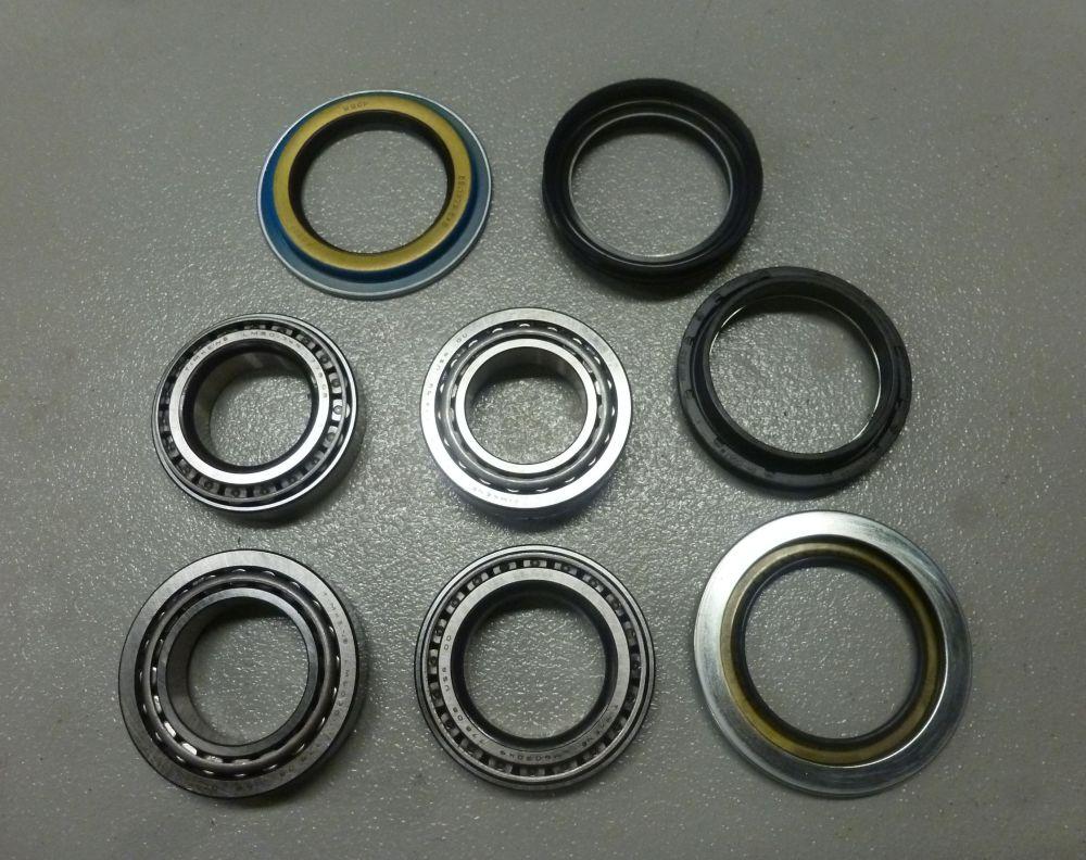 medium resolution of d44 timken wheel bearings races seals both sides
