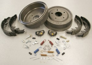 19801986 Ford Bronco and F Series Truck Rear Drum Brake Rebuild Kit, Large Bearing Axle