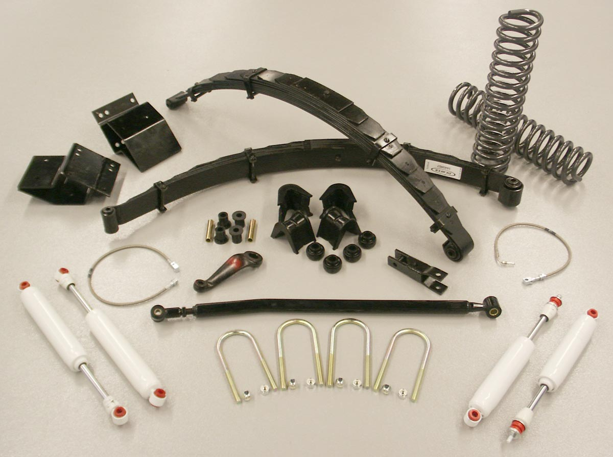 hight resolution of 5 inch standard flex suspension system lift kit