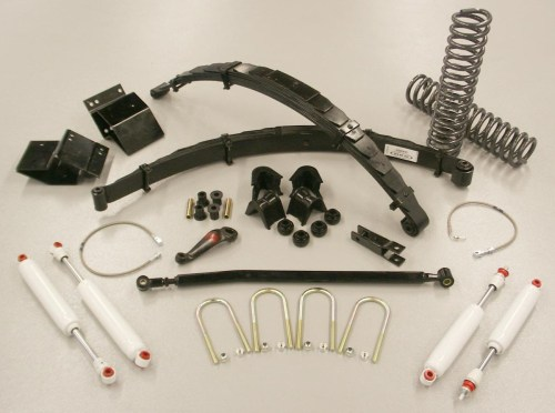 small resolution of 5 inch standard flex suspension system lift kit