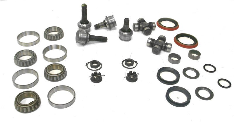 D44 F250 Solid Axle Front Maintenance Kit-Broncograveyard.com