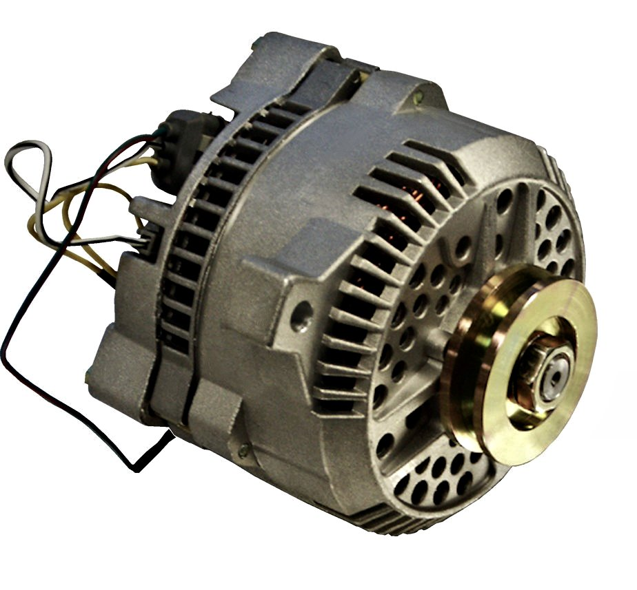 hight resolution of high output alternator 170 amp v groove pulley