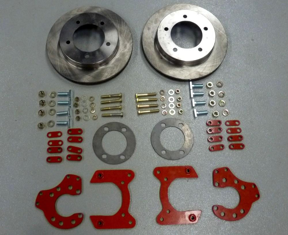 medium resolution of 9 rear disc brake conversion kit w 3 8 studs