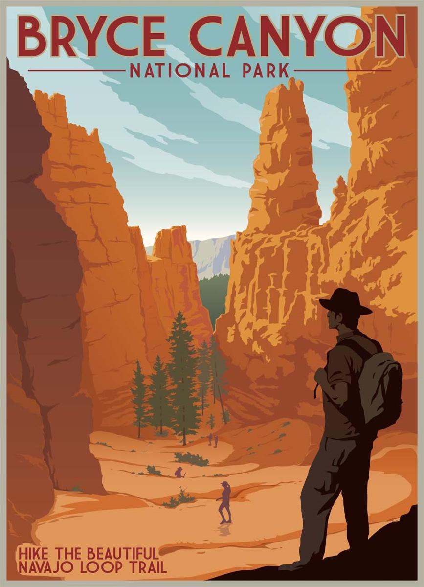 Navajo Loop Trail  Retro Ranger Series