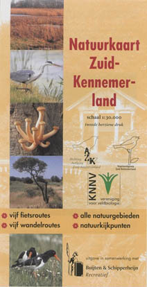 Natuurkaart Zuid-Kennemerland