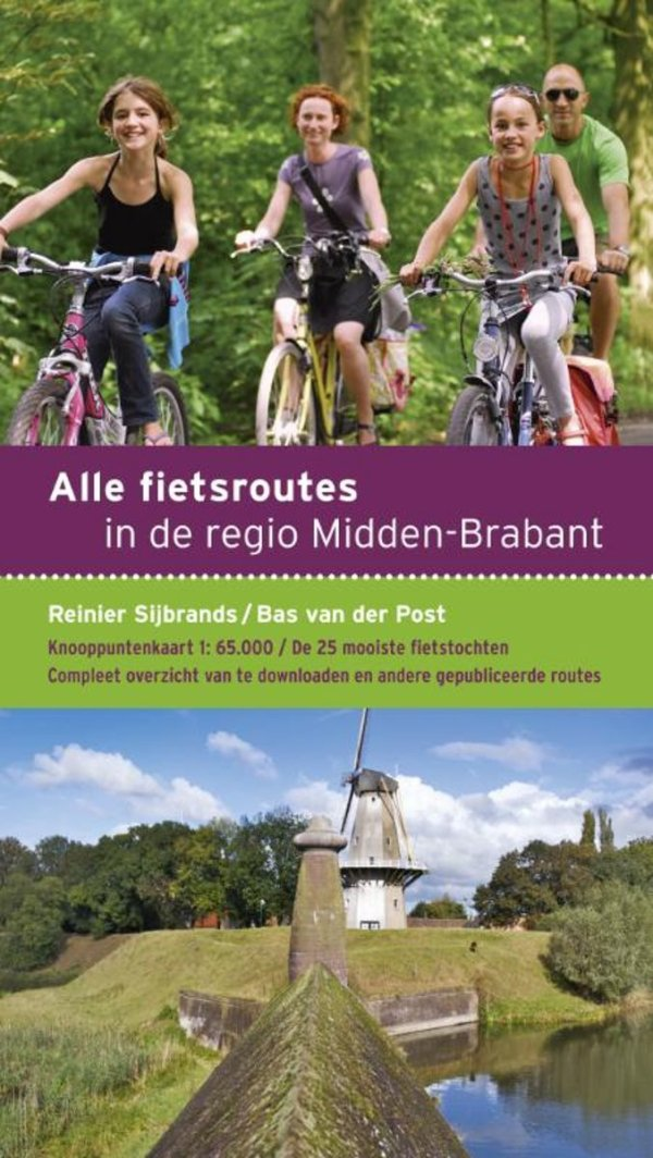 Alle fietsroutes in de regio Midden-Brabant