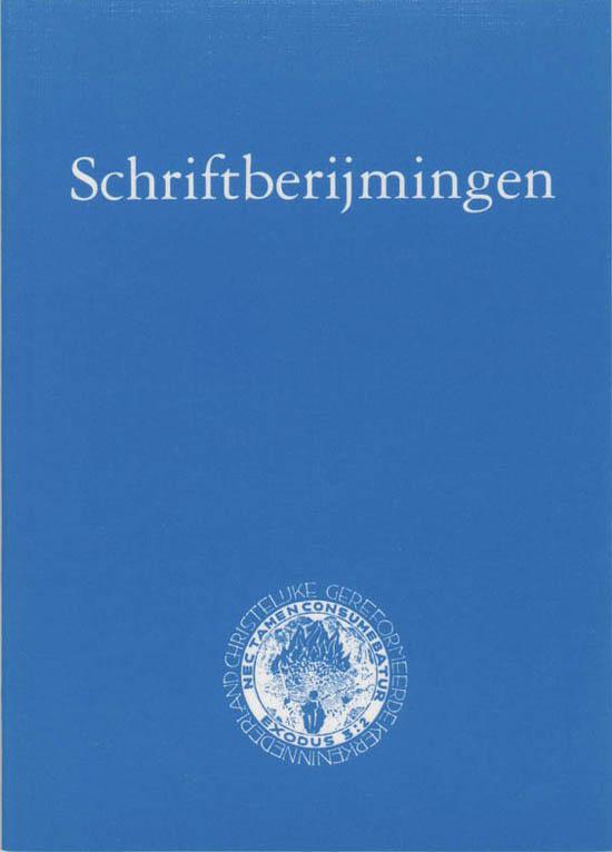 Schriftberijmingen voor de Chr.Geref.Kerk