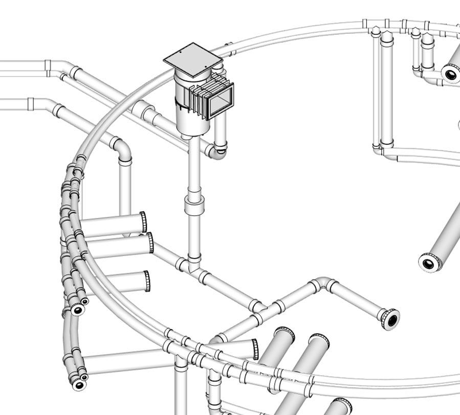 6ft Internal Diameter Cylindrical Hot Tub, 16 Jets