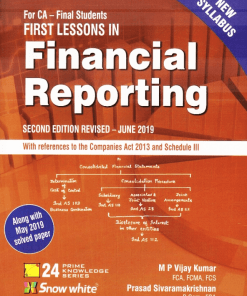 CA Final Financial Reporting Book by M P Vijay Kumar