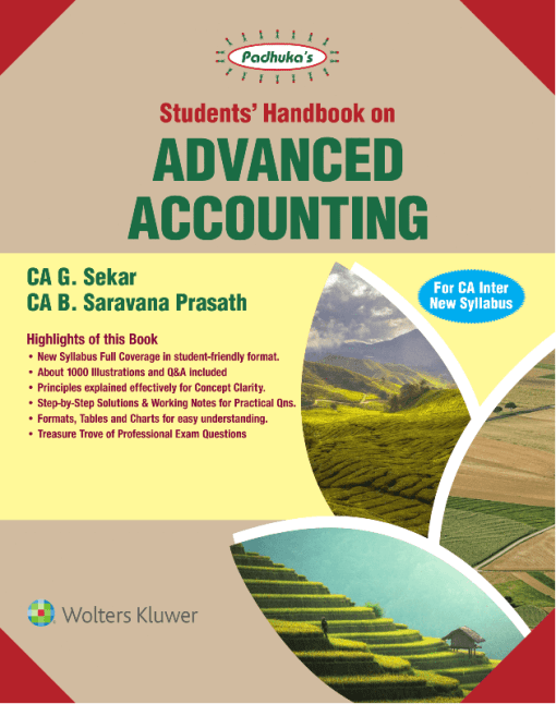 CA IPCC Advanced Accounting Book by G Sekar