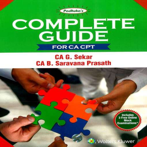 CA CPT Complete Guide by G Sekar, B Sarvana Prasath for June 2018