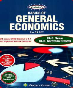 CA CPT General Economics Book by G Sekar, B Saravana Prasath for June 2018