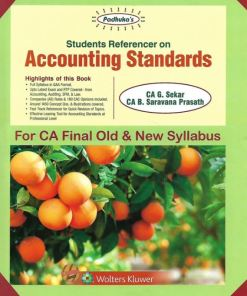 CA Final Accounting Standards Book by G Sekar for May 2019 (Old & New Syllabus)