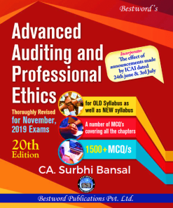 CA Final Audit Book by Surbhi Bansal Nov