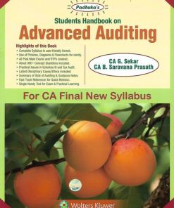 CA Final Auditing Book by G Sekar for May 2019 Exam (New Syllabus)
