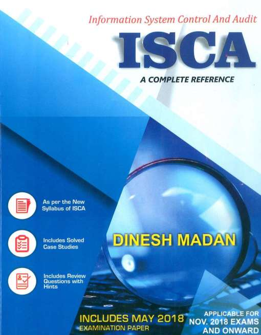 CA Final ISCA Book by Dinesh Madan for Nov 2018 Exams (Old Syllabus)