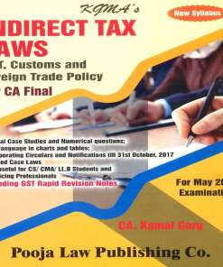 CA Final Indirect Tax Book by Kamal Garg for May 2018 Exam (New Syllabus)