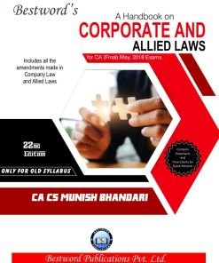 CA Final Law Handbook By Munish Bhandari For May 2018 Exams