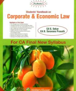 CA Final Law Handbook by G Sekar for May 2019 Exam (New Syllabus)