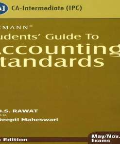 CA IPCC Accounting Standard Book by D S Rawat for Nov 2018 (Old Syllabus)