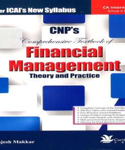 CA IPCC Financial Management Book By Rajesh Makkar for May 2018 (New Syllabus)