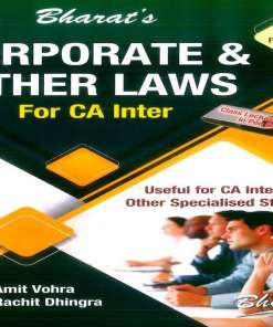 CA IPCC Law, Ethics and Communications Book by Amit Vohra, Rachit Dhingra for Nov 2018 Exam