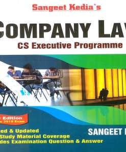 CS Executive Company Law Book By Sangeet Kedia For June 2018 Exam