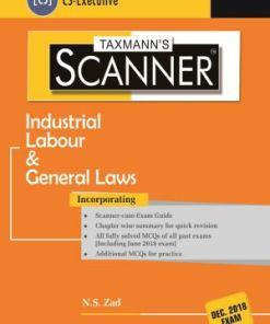 CS Executive Industrial Labour and General Law Scanner by NS Zad for Dec 2018 Exam