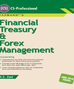 CS Professional Financial, Treasury and Forex Book By NS Zad for June 2018 Exam