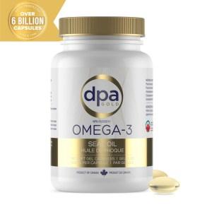 DPA Gold Omega-3 Seal Oil Softgels