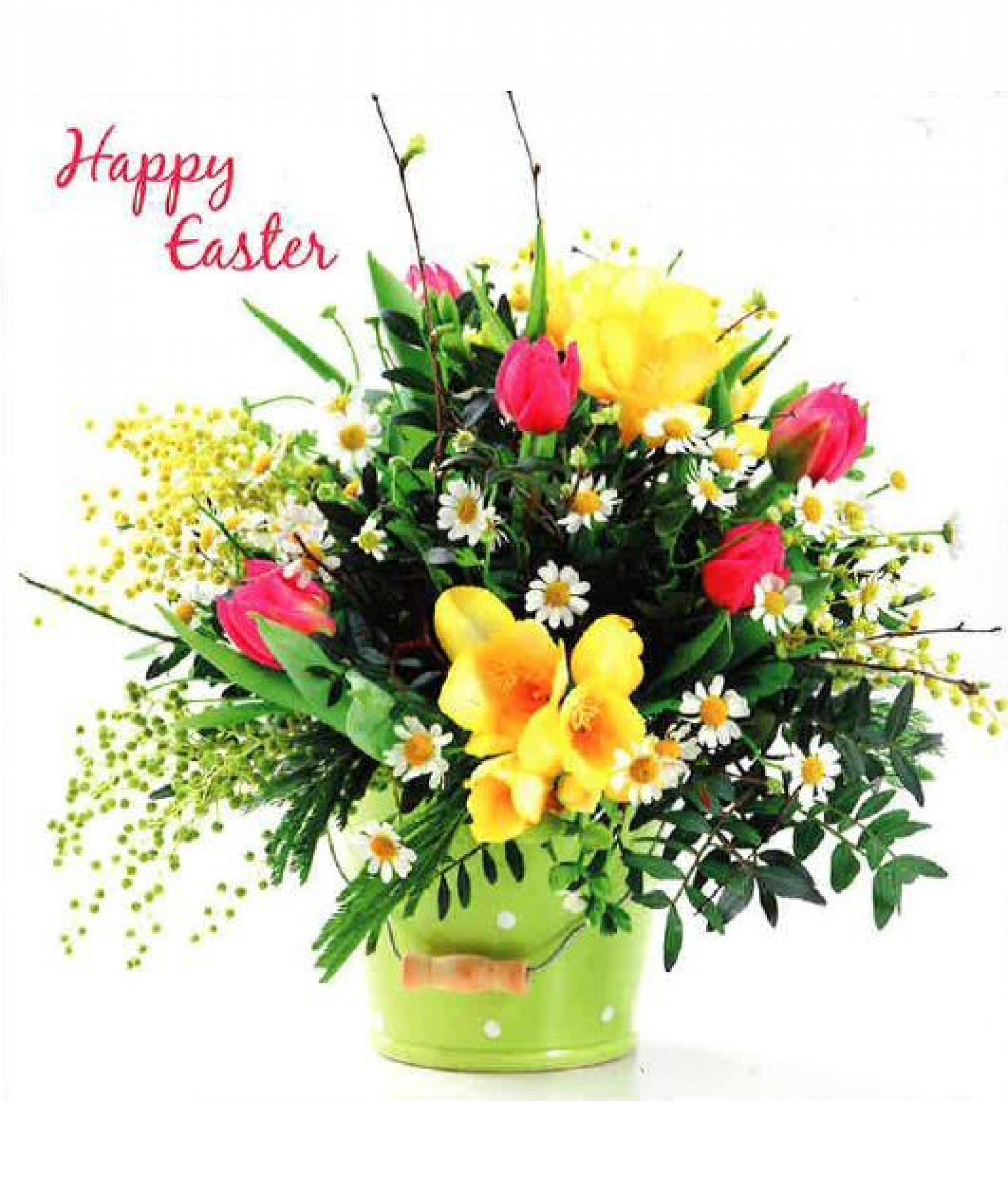Easter Flowers Easter Cards Pack Of 6 Cancer Research