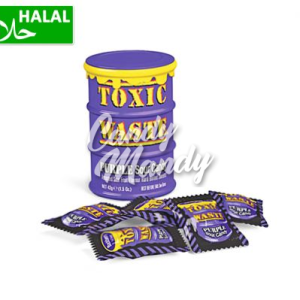 Toxic Waste Purple Sour Candy Drum