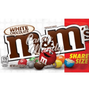 M & M's White Chocolate Share Size 70 g