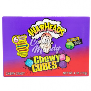 Warheads Chewy Cubes Box