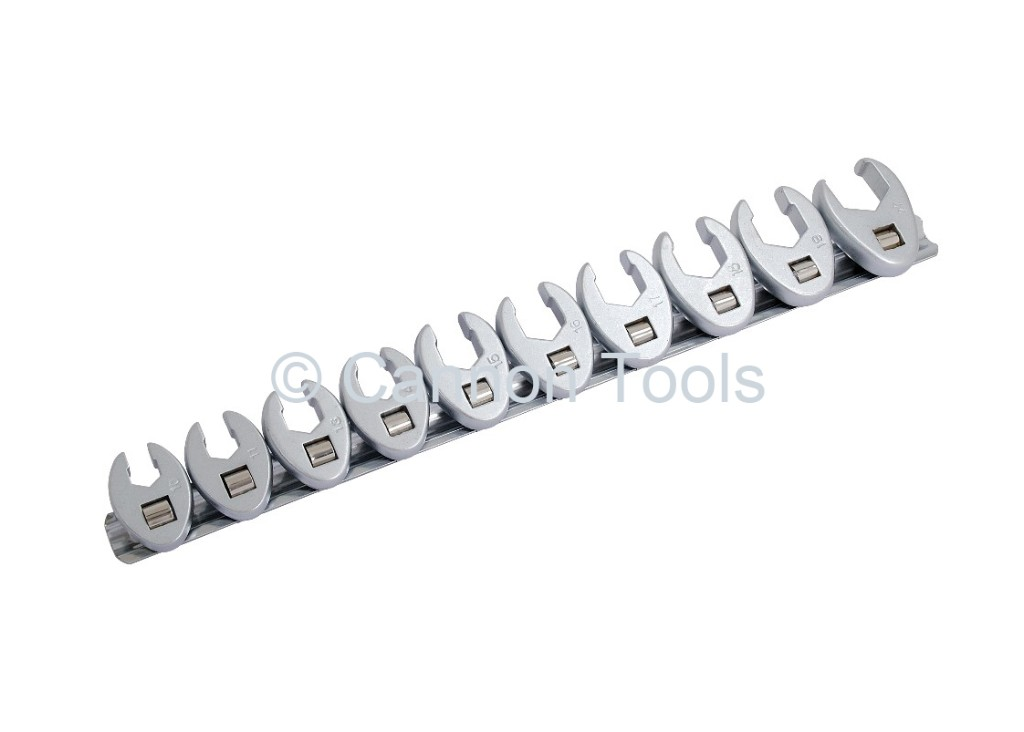 CROWS FOOT WRENCH SET 10 PIECE 3/8 DRIVE Automotive tools