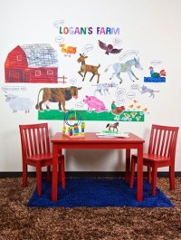 Eric Carle Farm Wall Decals   The Eric Carle Museum of ...