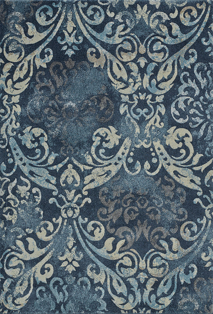 Geneva GV213 Navy Area Rug by Dalyn  CarpetMartcom