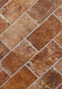 "London Brick Sunset 5"" x 10"" Porcelain Floor Tile"
