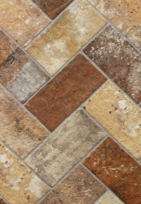"London Brick Multi 5"" x 10"" Porcelain Floor Tile ..."