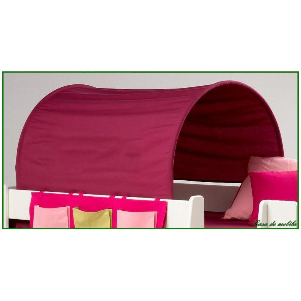 hochbett tunnel hochbett erik vorhang and tunnel pink. Black Bedroom Furniture Sets. Home Design Ideas