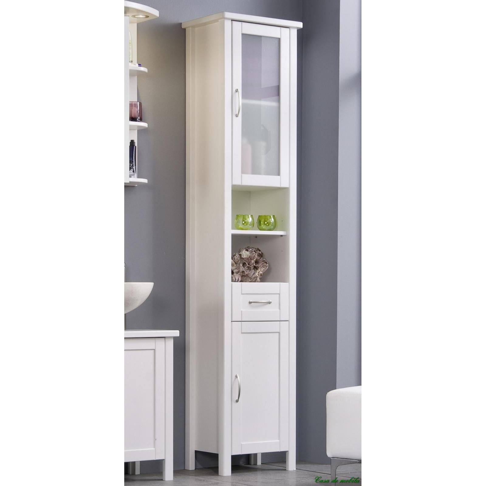 Badezimmerschrank Hochschrank Badezimmerschrank Korb Bathroom
