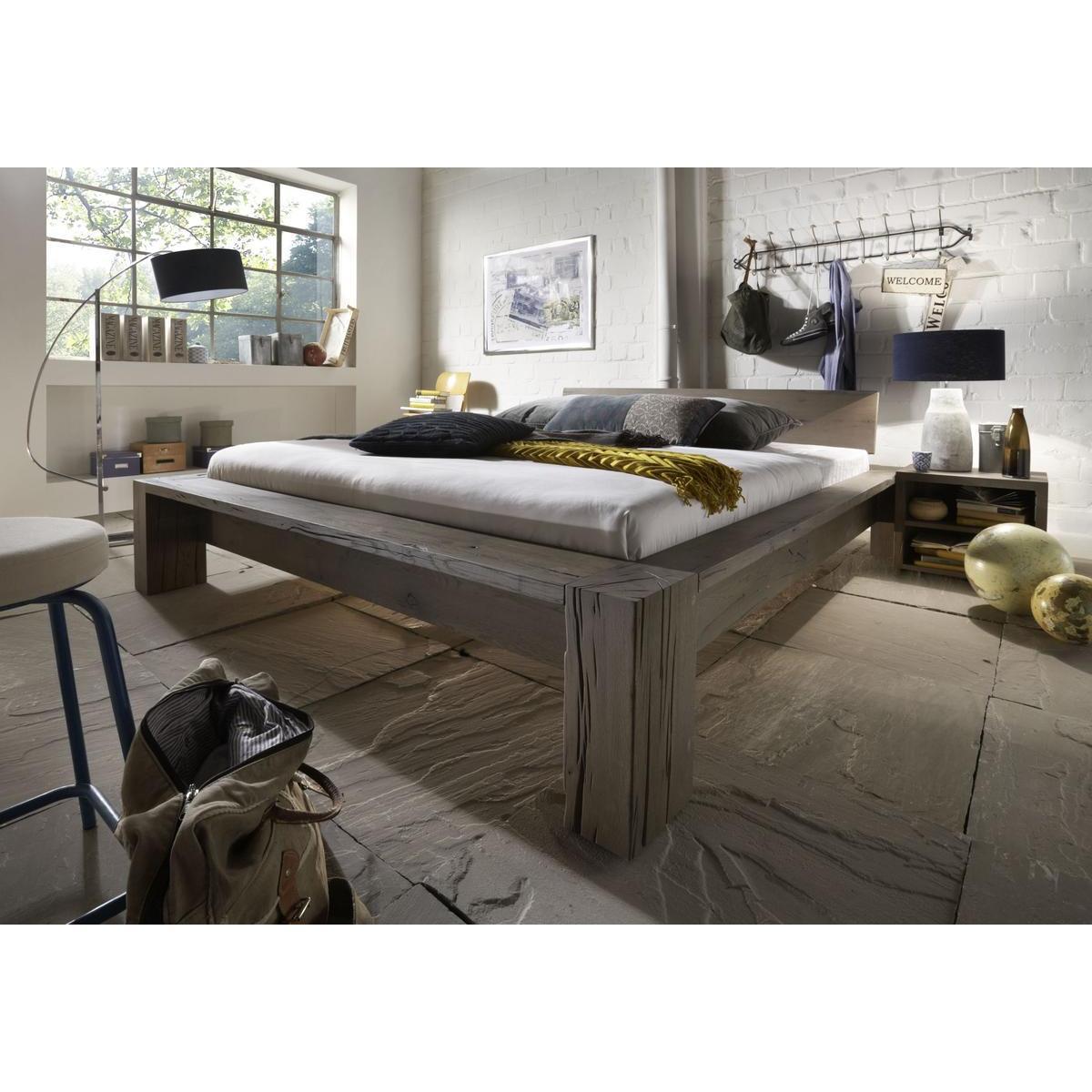 Altholz Bett Selber Bauen Balkenbett Kaufen Top Komplett Betten
