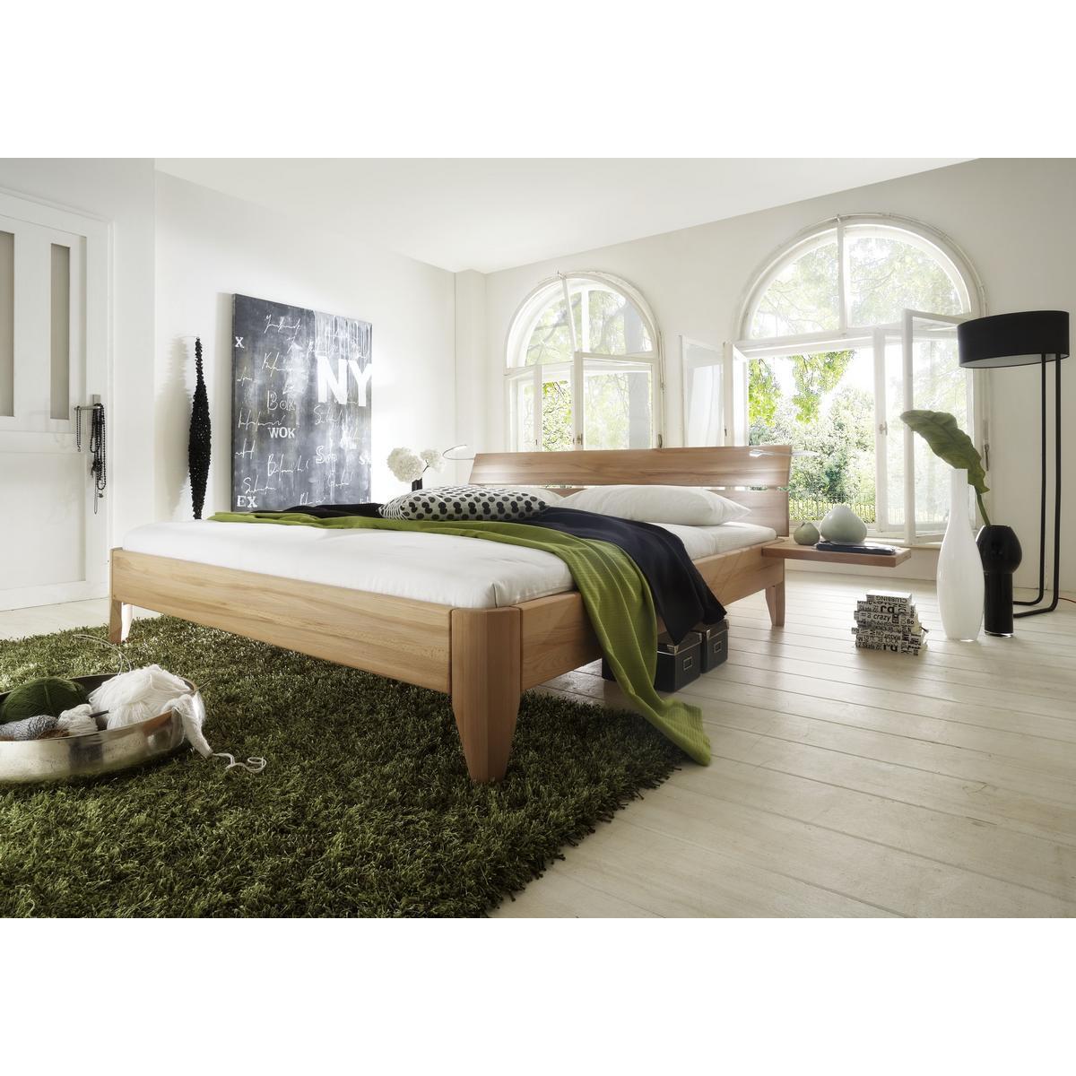 Massivholz Bett Buche 120x200 Bett In Z B 120x200 Cm Grosse Aus