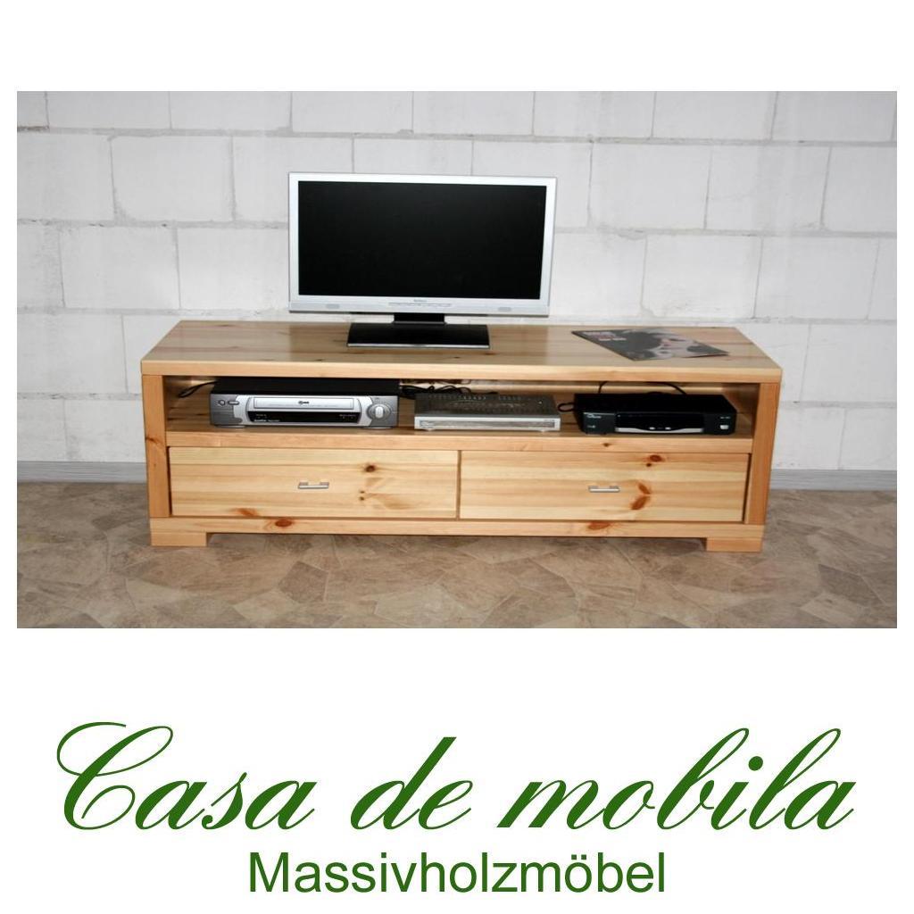 Kiefer Massiv Tv Möbel Tv Board Ii Mexican Kiefer Massiv Wendland