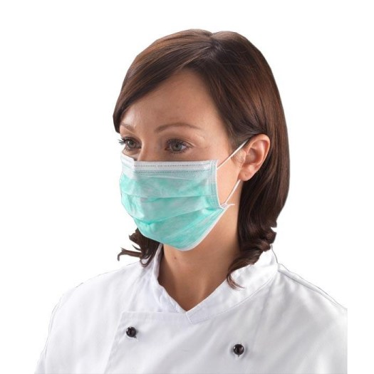 Surgical Face Mask Non-Woven 3-Ply Disposable Surgical Face Mask