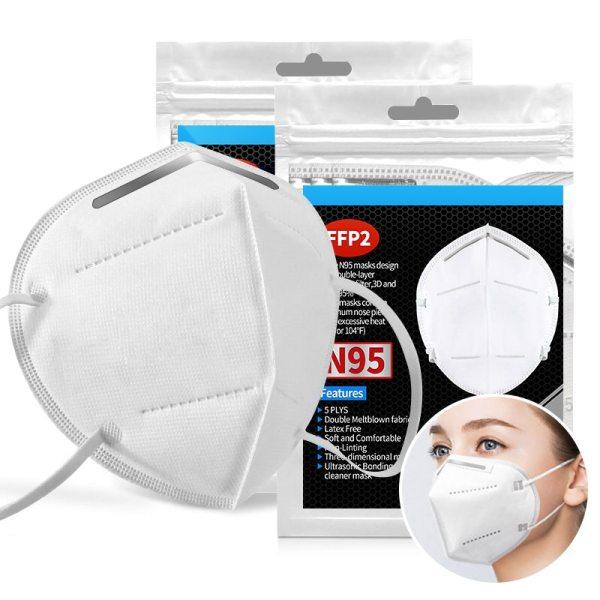 N95 FFP2 Mask5 Layer N95 Respirator 10-100PCS