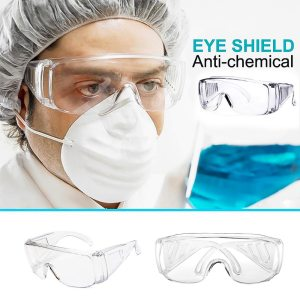 Protective Safety Goggles Prevent Infection Eye Mask Anti-Fog Medical Splash Goggles