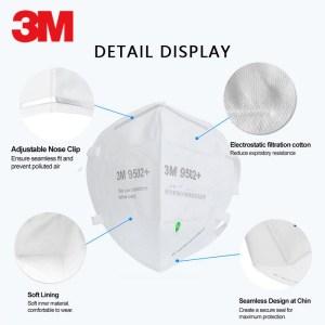3m 9502+ KN95 Mask respirator
